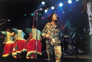 Lucky Dube sings life reggae music