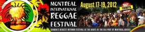 Montreal International Reggae Festival (MIRF) 2012